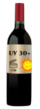 Santé : Le vin contre les coups de soleil