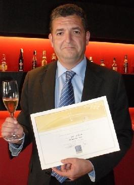 Jordi Melendo remporte la finale espagnole du Concours des Ambassadeurs de Champagne