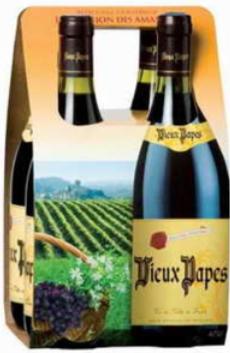 Marque : Vieux Papes joue la carte Vin de France cépage
