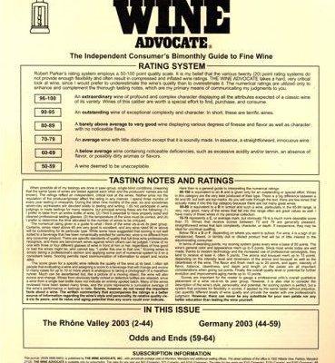 Le Wine Advocate attaque Antonio Galloni pour rétention d'articles et de notes de dégustation de vin