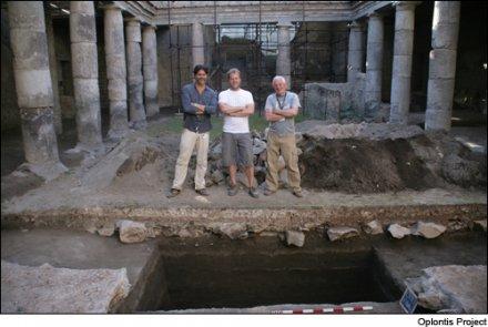 Le vin dans l'antiquité : ruines d'une cave de négoce à proximité de Pompéi