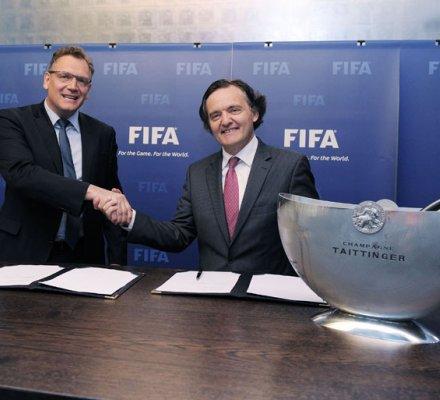 Brésil : la Coupe du Monde de Football parrainée par un vin local et les champagnes Taittinger