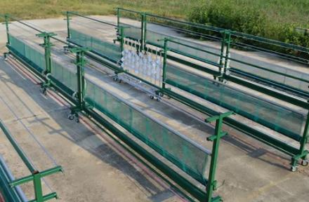 Phyto : un banc d'essai pour adapter la pulvérisation au cycle de la vigne