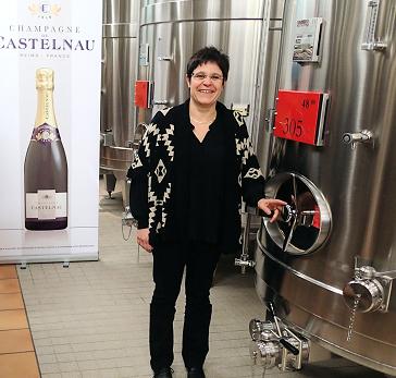 La Coopérative Régionale Viticole de Champagne prend Elisabeth Sarcelet comme chef de caves