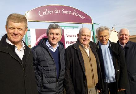 Beaujolais : contrats fonciers et pluriannuels entre le Cellier des Saint-Etienne et le négoce