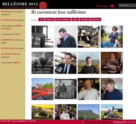 2013 : Un millésime singulier, une communication novatrice, un nouvel élan pour le LANGUEDOC ROUSSILLON