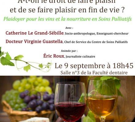 Un bar à vin dans le Centre Hospitalier Universitaire de Clermont Ferrand