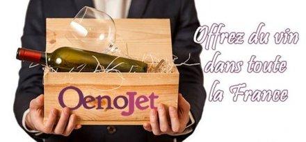 Les vins des cavistes sur « Oenojet », « l'interflora » du vin