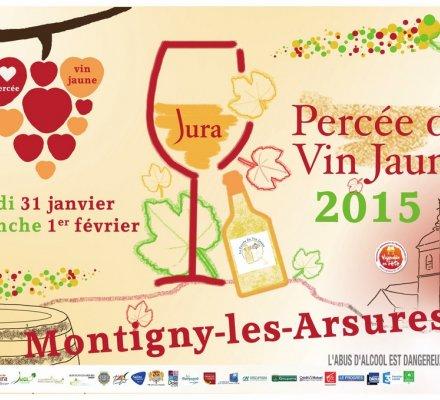 Jura : présentation du millésime 2008 lors de la prochaine « Percée du vin jaune »