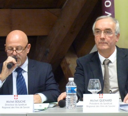 Savoie : le cours des vins en vrac bien orienté, mais