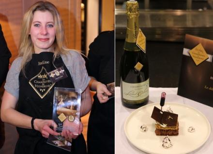 Champagne en cuisine : la blogueuse Emeline Ogier remporte le concours ''blancs de noirs''